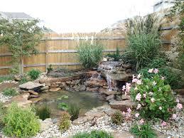 landscape design water garden austin tx 1