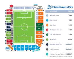 Sporting Kc Seating Chart Sporting Kc Releases 2018 Season Ticket Prices Sportingkc