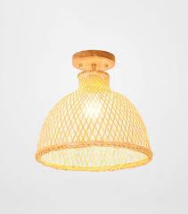 Smc Lighting Smc Ceiling Light Japanese Style Bamboo Art Ceiling Lamp