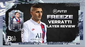 88) FREEZE VERRATTI PLAYER REVIEW - FIFA 21 ULTIMATE TEAM - YouTube