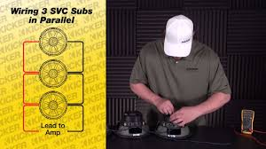 kicker wiring diagram svc wiring diagram library subwoofer wiring three svc subs in parallel subwoofer wiring three svc subs in parallel kicker