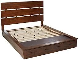 Amazon.com: Artesia California King Platform Bed with Storage ...