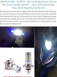 Đèn Pha LED Xe Máy Siêu Sáng - Đèn Pha Trợ Sáng Đèn Led Xe May vision