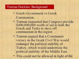 Image result for Truman stops short of declaring war but says America is conducting the major military operation to prevent the communist conquest of an independent nation.