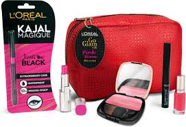 makeup kit middot l 39 oreal paris go glam kit with pink bloom in india l