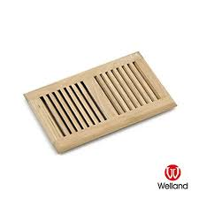 welland hardwood self floor register vent unfinished 6 inch x 12 inch white