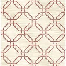 phaius burgundy trellis wallpaper