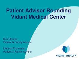 Ppt Patient Advisor Rounding Vidant Medical Center