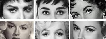 1950s eye brow shapes