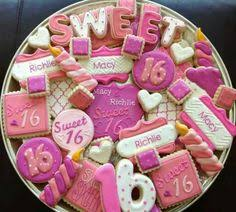9 Delightful Sweet 16 Cookies Images Decorated Cookies Sugar