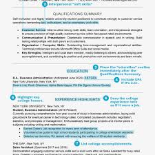 Job Resume Template College Student Kizi Gamesme
