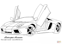 Small Picture Lamborghini Aventador coloring page Free Printable Coloring Pages