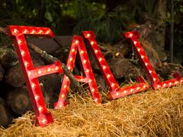 Inspiring marquee signs ideas christmas decoration Marquee Lights How To Make Marquee Letters Hgtvcom How To Make Lighted Marquee Letters 10 Tips For Easy Entertaining