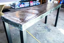 zinc table top round coffee durability pros and cons