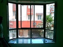 aluminium bay window at karvenagar pune
