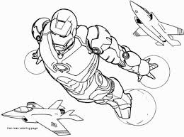 Iron Man Coloring Pages Fresh Iron Man Coloring Page Awesome