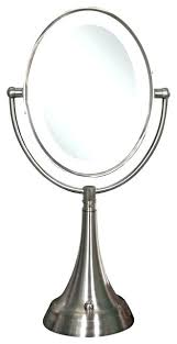 cordless lighted makeup mirror helena music info h46
