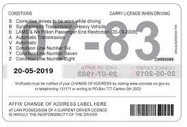 Conditions Licence Licence Licence Conditions Vicroads Vicroads Licence Licence Vicroads Conditions Conditions Vicroads