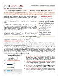 CEO Resume Sample, Chief Executive Officer Resume Sample