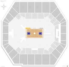 Pacers Game Seating Chart Indiana Pacers Seating Guide Bankers Life Fieldhouse