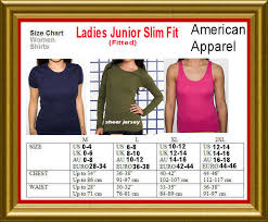 High Quality American Apparel Unisex Hoodie Size Chart