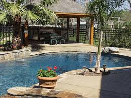 Back Yard Kitchen Backyard Designs With Pool And Outdoor Kitchen Kitchen Designs