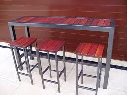 outdoor umbrella bar table garden bar table and stools high top glass patio table