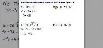 How to Simplify using the distributive property Â« Math :: WonderHowTo