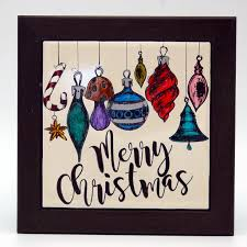 Kitchen Christmas Gift Merry Christmas Christmas Ornament Christmas Trivet Holiday