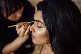 above my beautiful friend windy chiu sensational makeup artist embellishing my pletely dried out skin and frazzled hair with her magic because on my