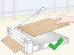 how to cut vinyl tile