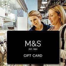 m s logo presentation card m s gift vouchers