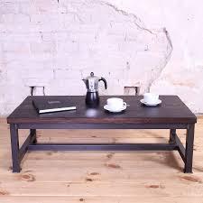 sleek steel industrial style coffee table cosywood co uk industrial steel coffee table