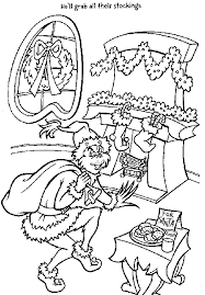 Small Picture Grinch Coloring Pages Coloring Pages To Print