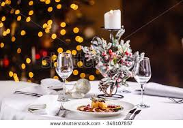 dinner table background. Background Christmas Table And Tree At Home Italy . Dinner M
