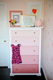 rooms with painted furniture. DIY Ombre Dresser Tutorial Rooms With Painted Furniture T