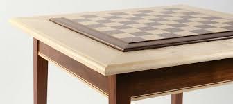 walnut maple premium hardwood chess table