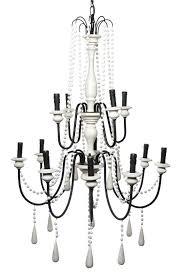 hampton chandelier 4 light chandelier with white