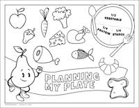 Small Picture Printable Nutrition Activities for Kids Mom Foodie
