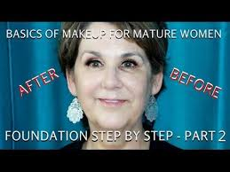 how to do makeup for women over 60 part 2 foundation tutorial subscribe to my