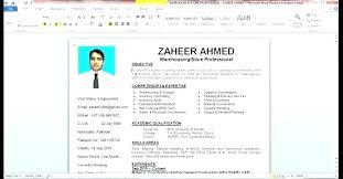 Make A Resume On Microsoft Word Making Resume In Word How To Make A Curriculum Vitae On Word Making