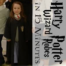 harry potter wizard robe in 15 minutes from a t shirt