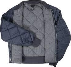 Dickies Diamond Quilted Nylon Jacket - Free Shipping & dark navy Adamdwight.com