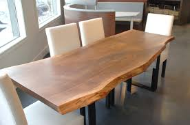 raw edge dining table. Brown Kitchen Design And Also Live Edge Black Walnut Dining Table By Boisdesign On Etsy. « Raw E