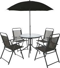outdoor table and chairs. 4 Seater Outdoor Garden Furniture Dining Set Round Table \u0026 Chairs With Parasol: Amazon.co.uk: Outdoors And