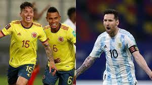 Colombia vs. Argentina: estadísticas e ...