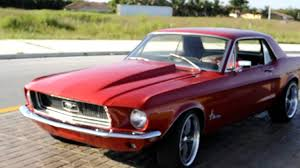1968 Ford Mustang 347 Stroker 400+ hp - YouTube