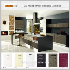 Pvc Kitchen Furniture Designs High Gloss Pvc Laminate Kitchen Cabinet Pvc Edge Banding Buy