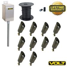 home interior emerging low voltage outdoor lighting kits hampton bay bronze integrated led landscape path