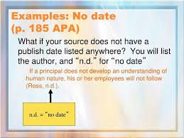 Ppt Apa Citation Format 6 Th Edition Powerpoint Presentation Id